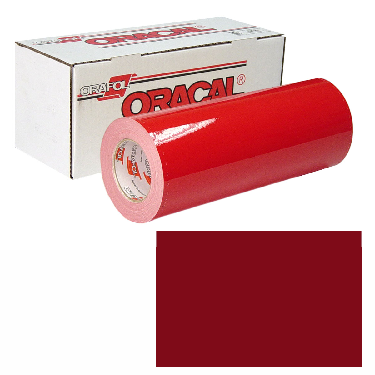 ORACAL 951M 15In X 50Yd 367 Red Metallic