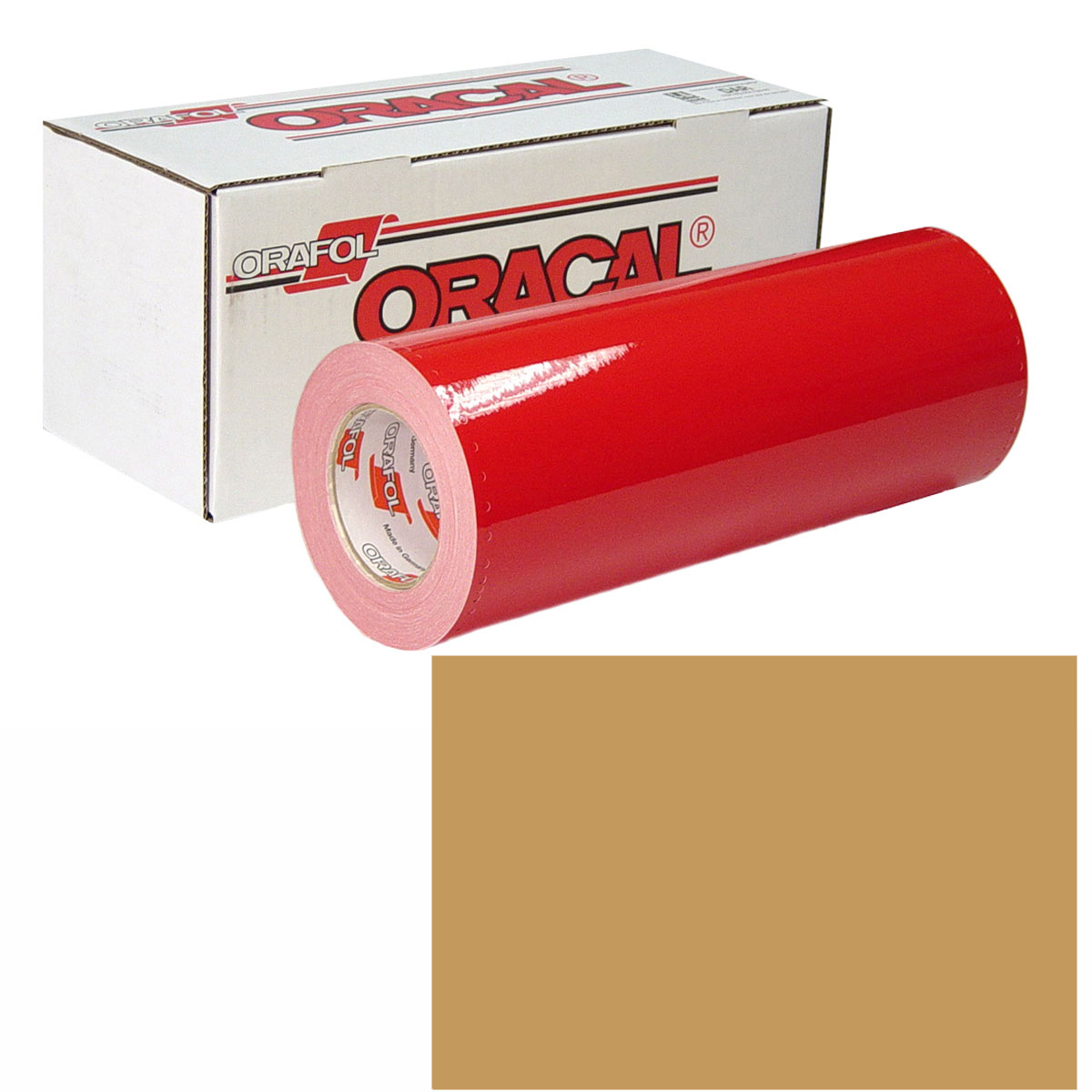 ORACAL 951M Unp 24In X 10Yd 925 Pale Gold