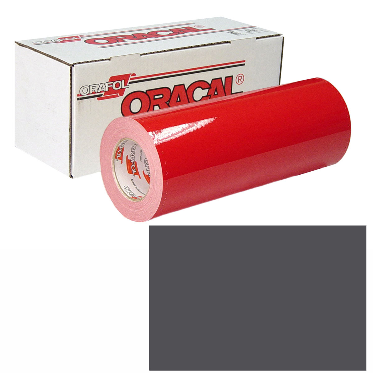 ORACAL 951M Unp 24in X 10yd 937 Charcoal Met