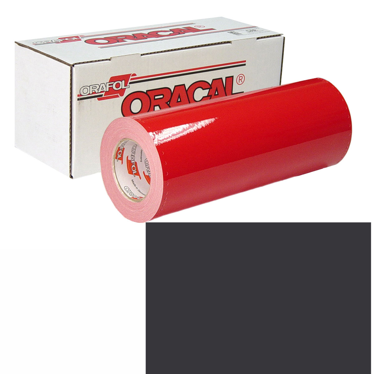 ORACAL 951M Unp 24in X 50yd 937 Charcoal Met