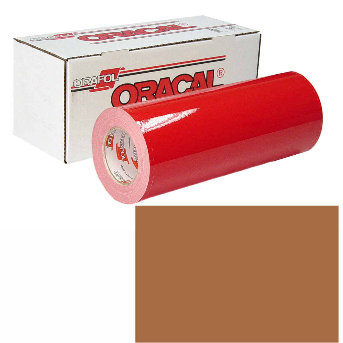 ORACAL 951M Unp 24In X 50Yd 366 Red Gold
