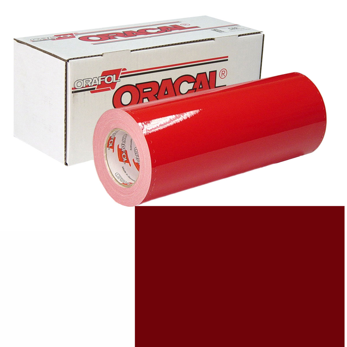 ORACAL 951M 30In X 50Yd 368 Dark Red Met