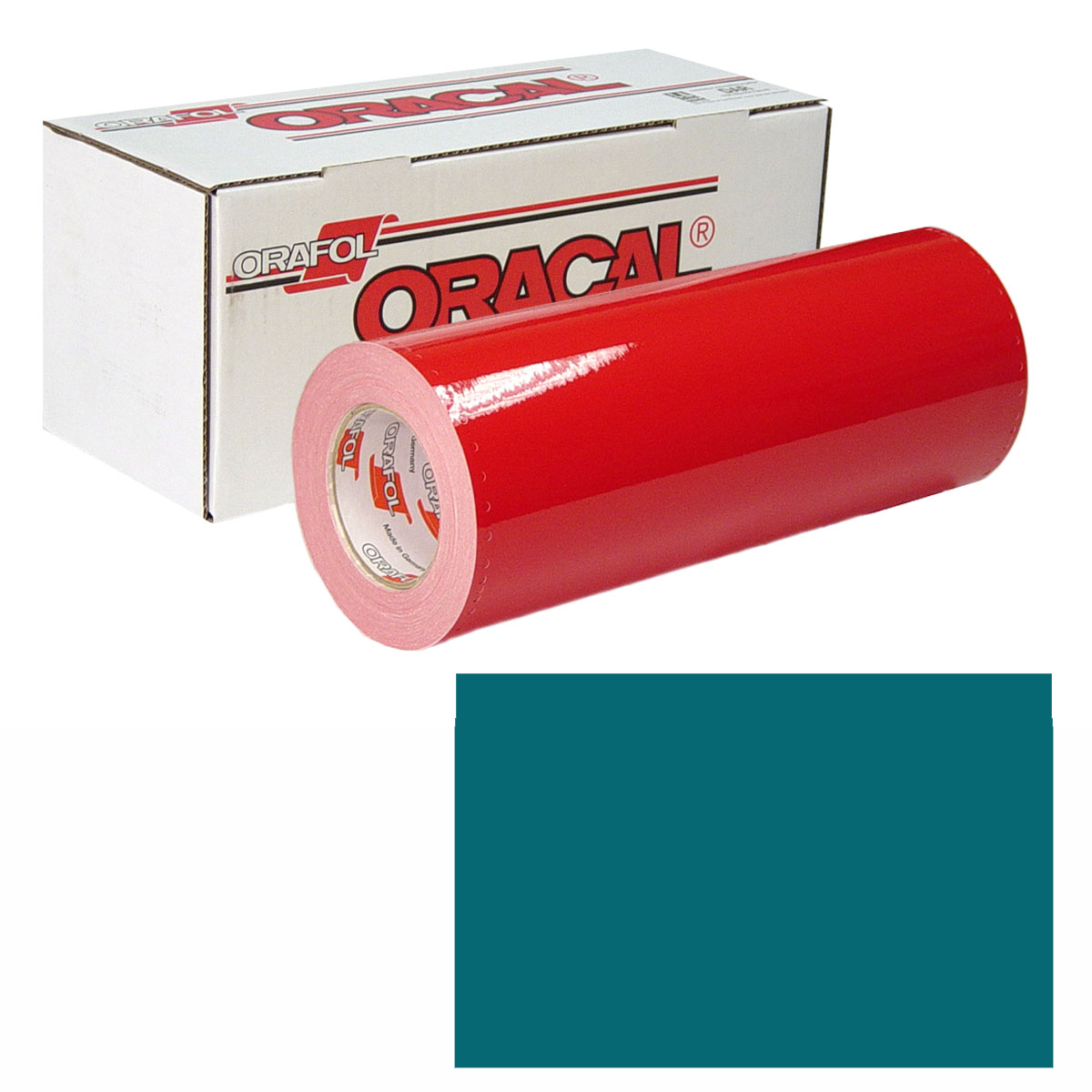 ORACAL 951M Unp 48in X 10yd 637 Teal Metallic