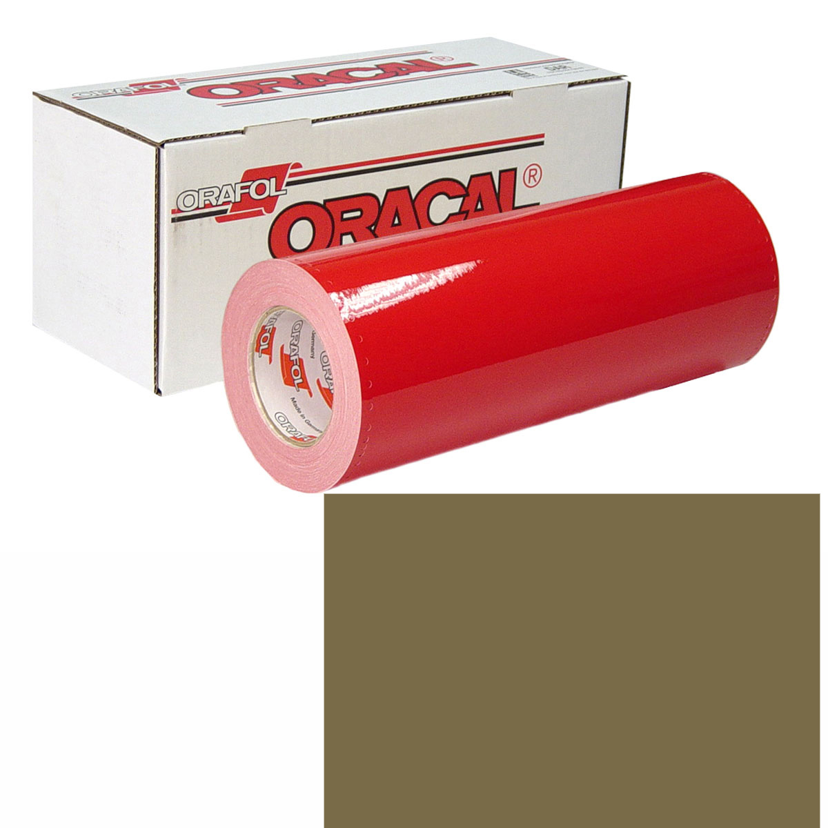 ORACAL 951M Unp 48in X 10yd 680 Steppe Green