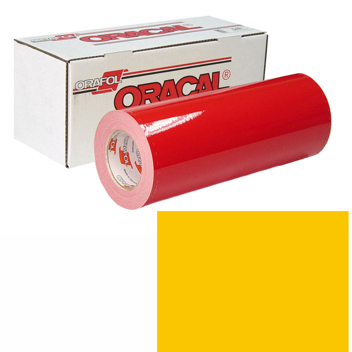 ORACAL 951 Unp 24In X 10Yd 216 Traffic Yellow