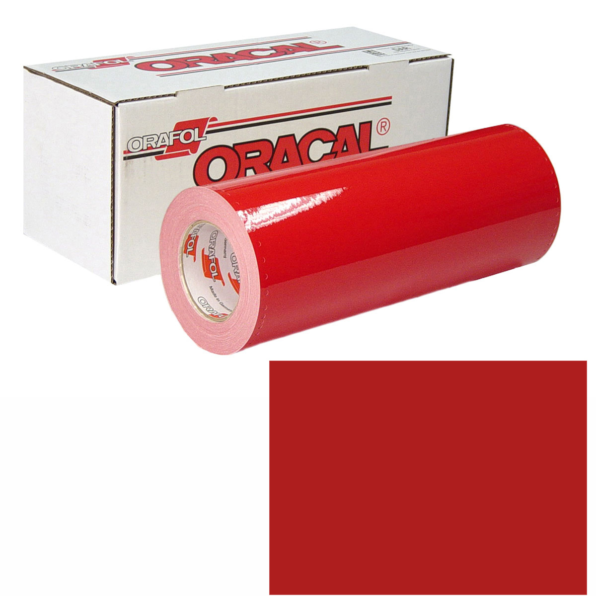 ORACAL 951 15in X 10yd 031 Red