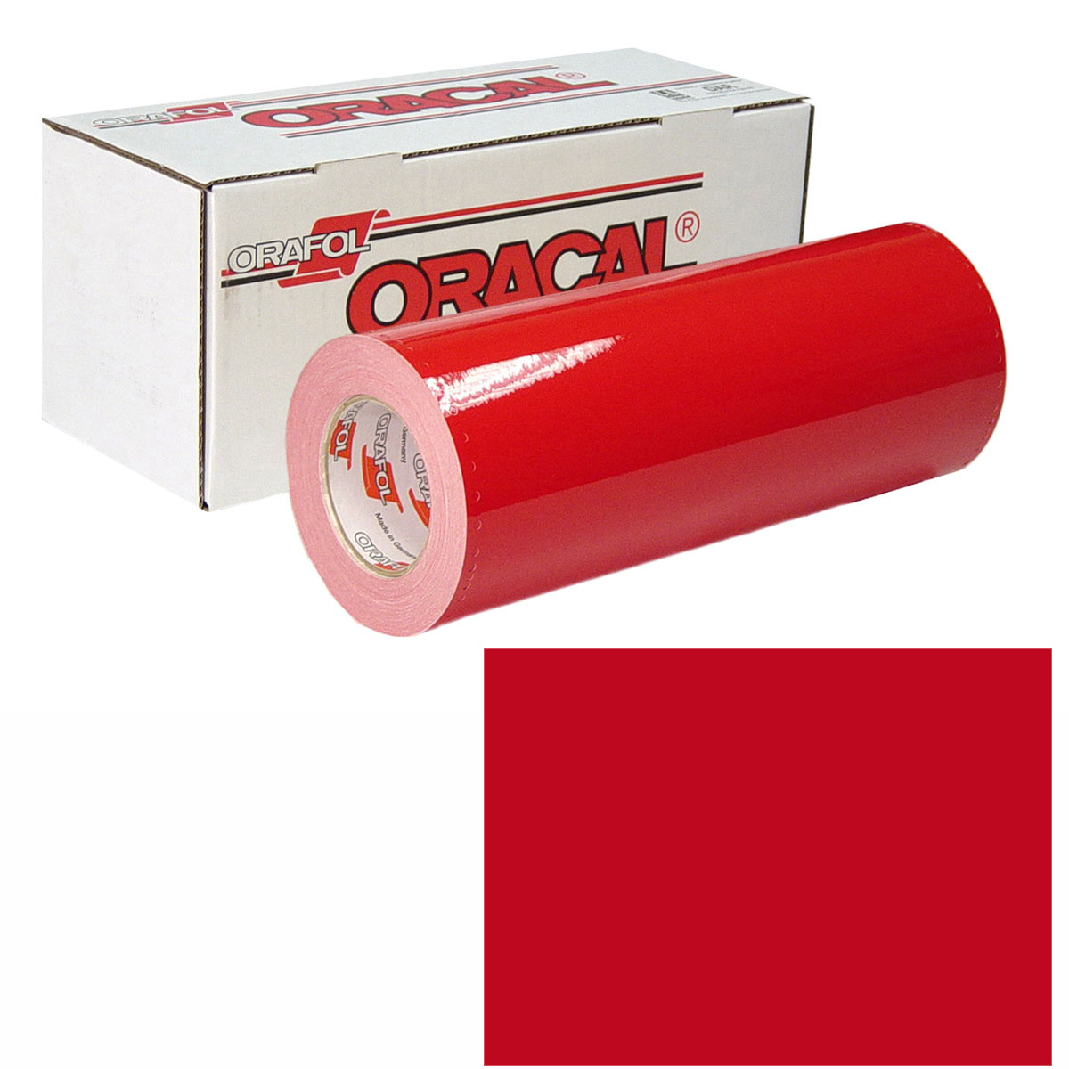 ORACAL 951 15in X 10yd 028 Cardinal Red