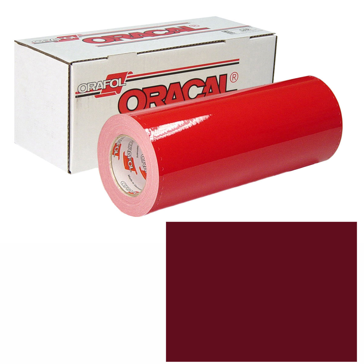 ORACAL 951 15in X 10yd 026 Purple Red