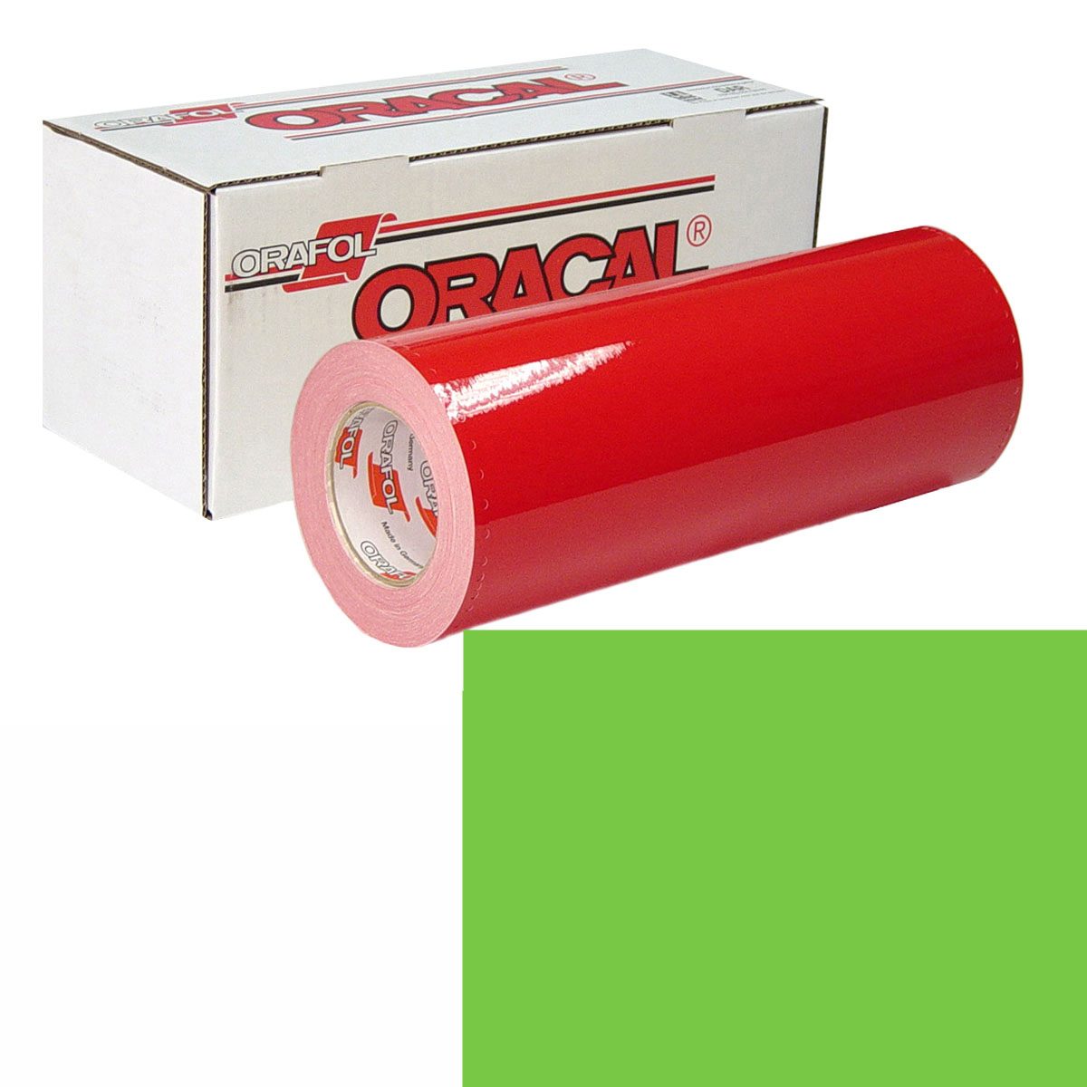 ORACAL 951 Unp 24In X 10Yd 601 Lime Green