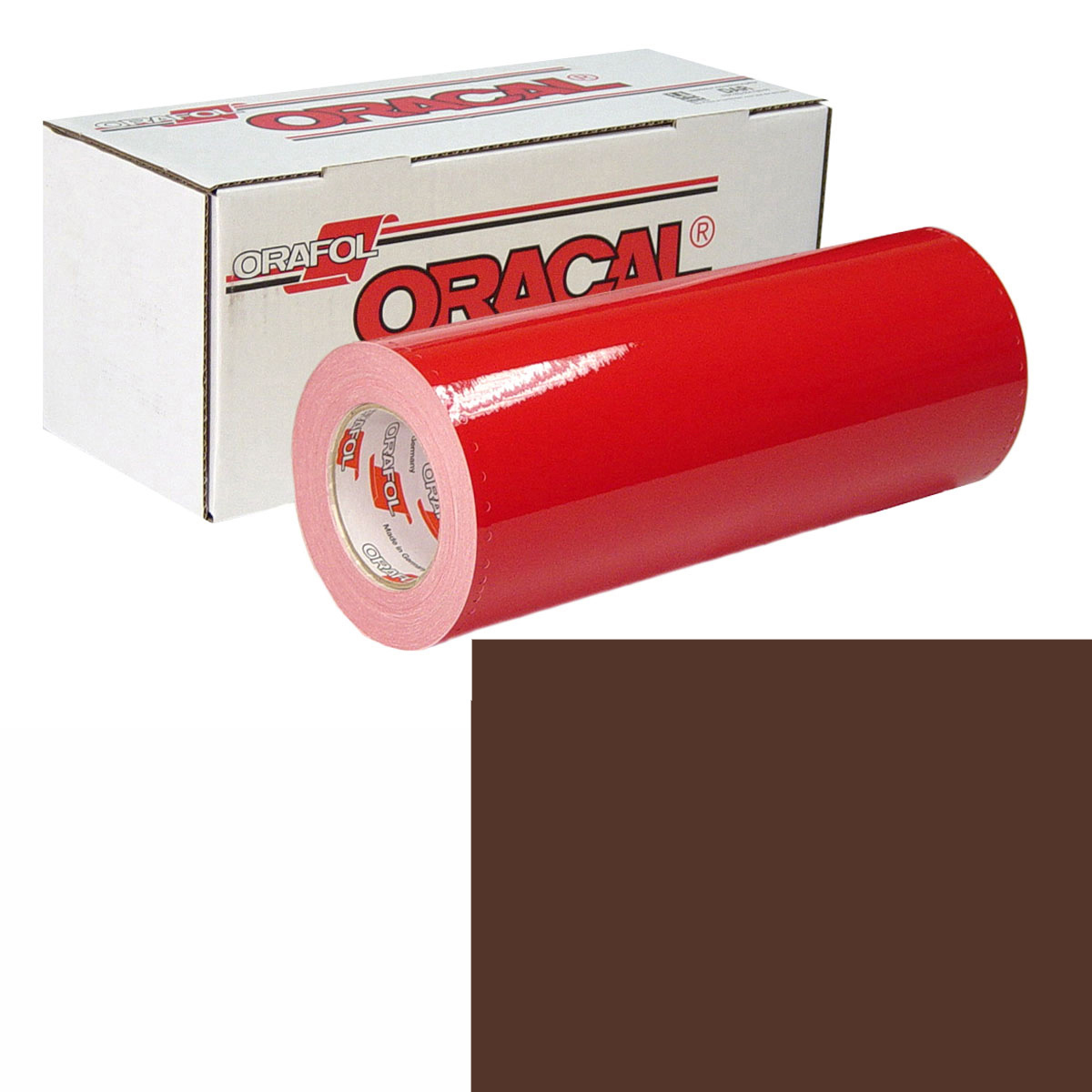 ORACAL 951 Unp 24In X 10Yd 810 Cocoa Brown