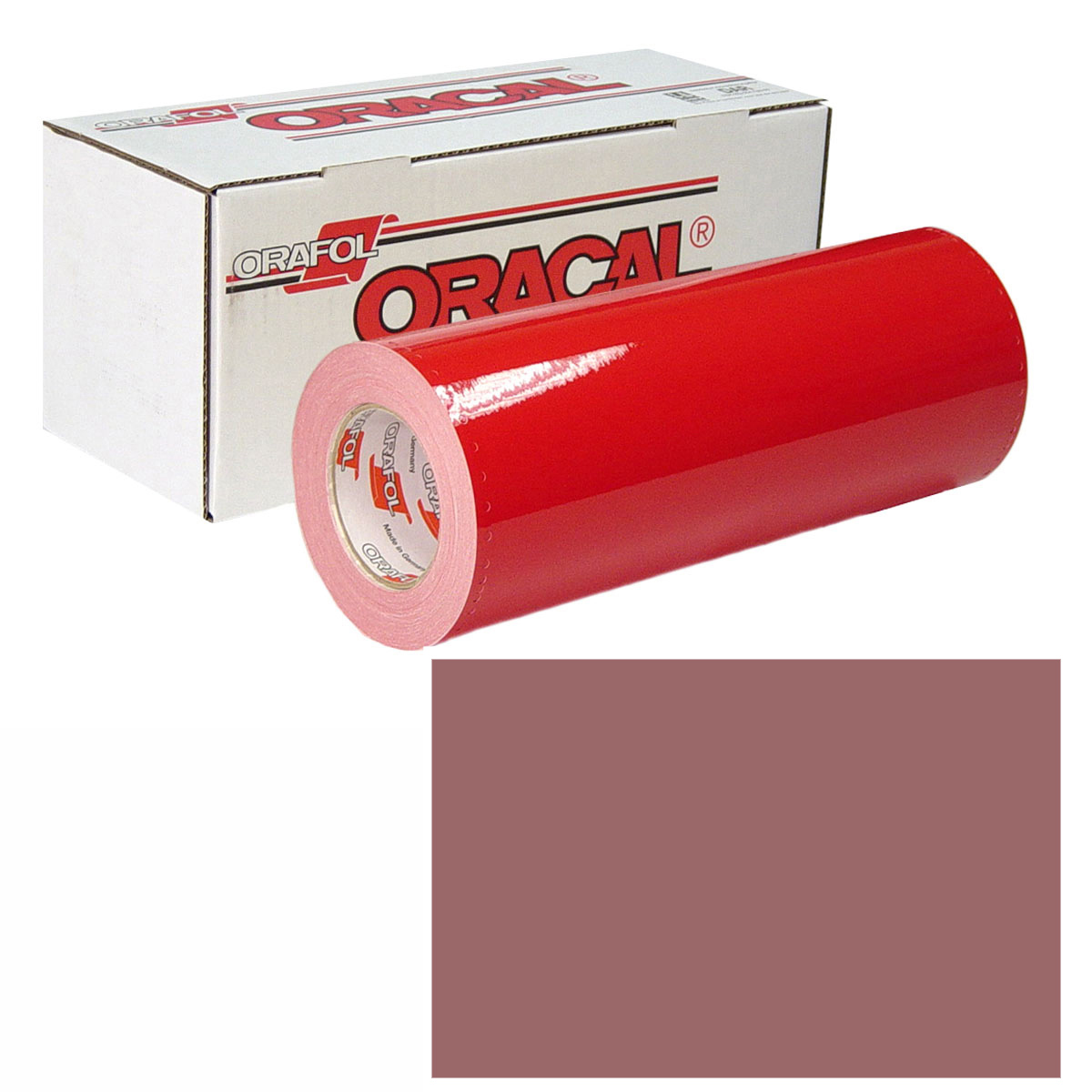 ORACAL 951 15in X 10yd 079 Red Brown