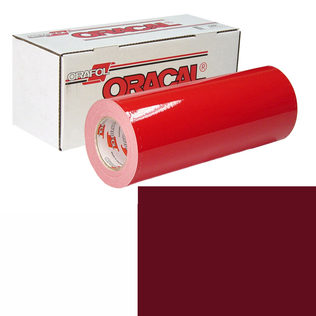 ORACAL 951 15In X 50Yd 030 Dark Red