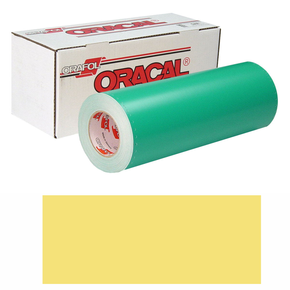 ORACAL 8500 30In X 50Yd 013 Zinc Yellow