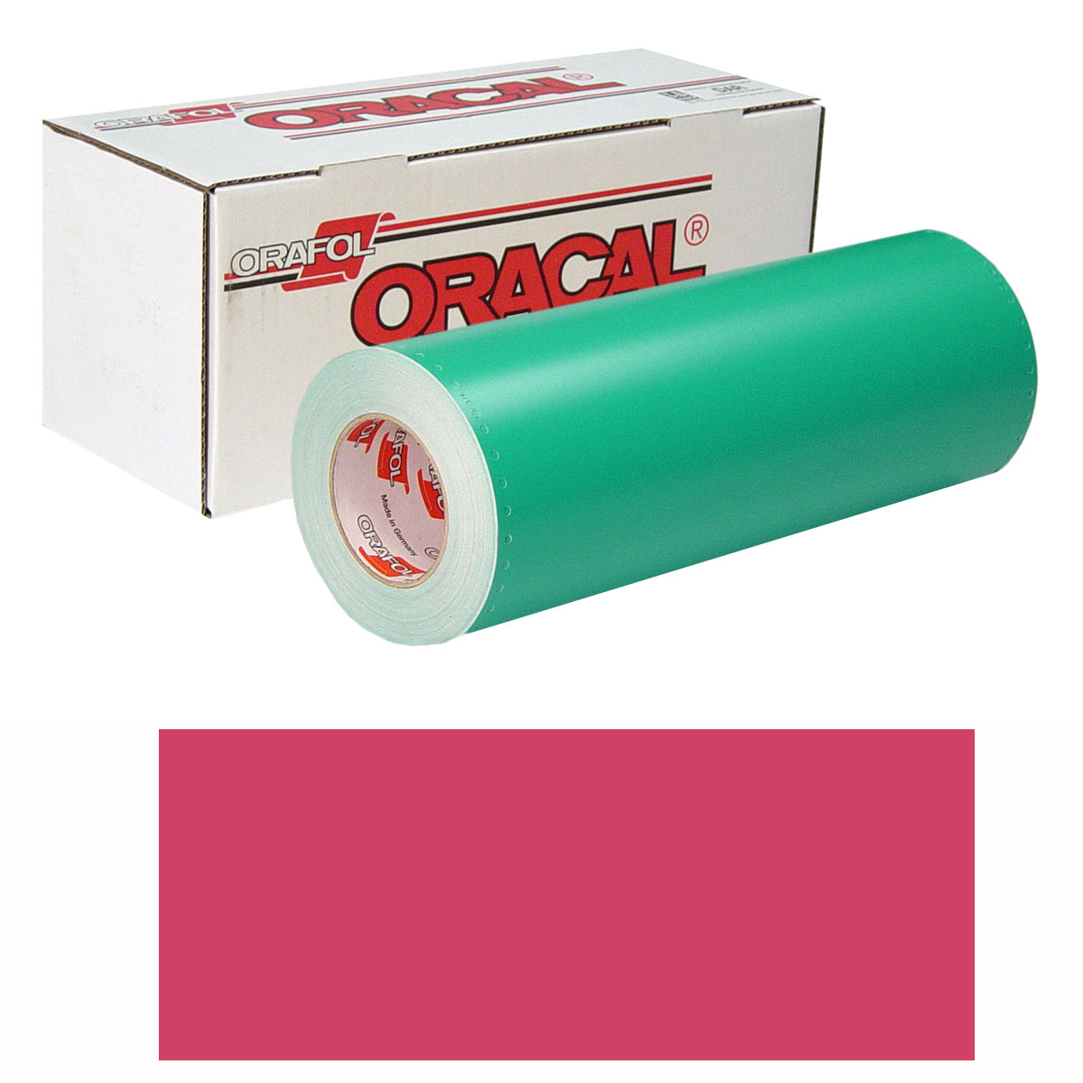 ORACAL 8500 Unp 24in X 50yd 017 Cherry Red