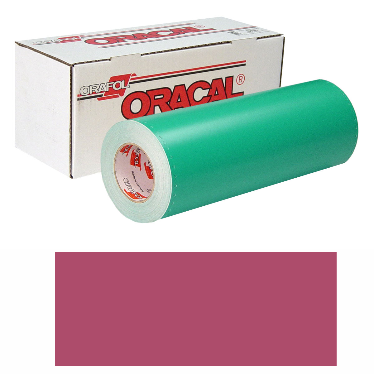 ORACAL 8500 Unp 24In X 10Yd 008 Heather Red