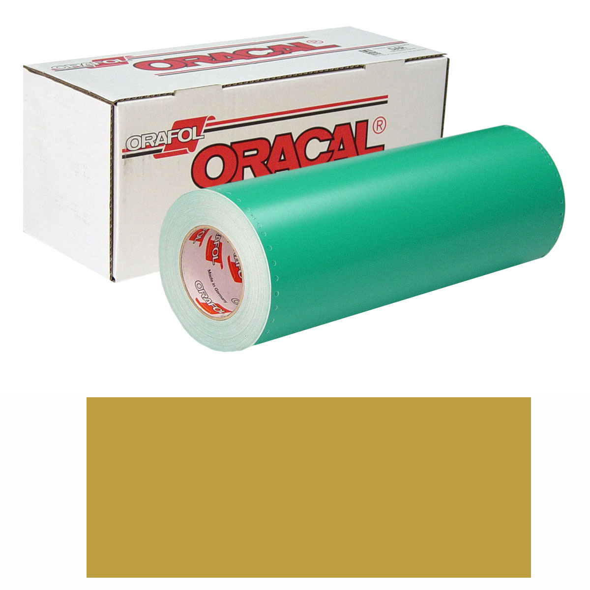 ORACAL 8500 15In X 10Yd 091 Gold