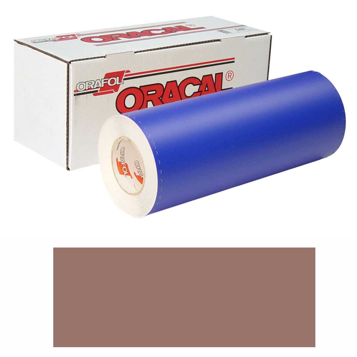 ORACAL 8300 Unp 24in X 10yd 079 Reddish Br