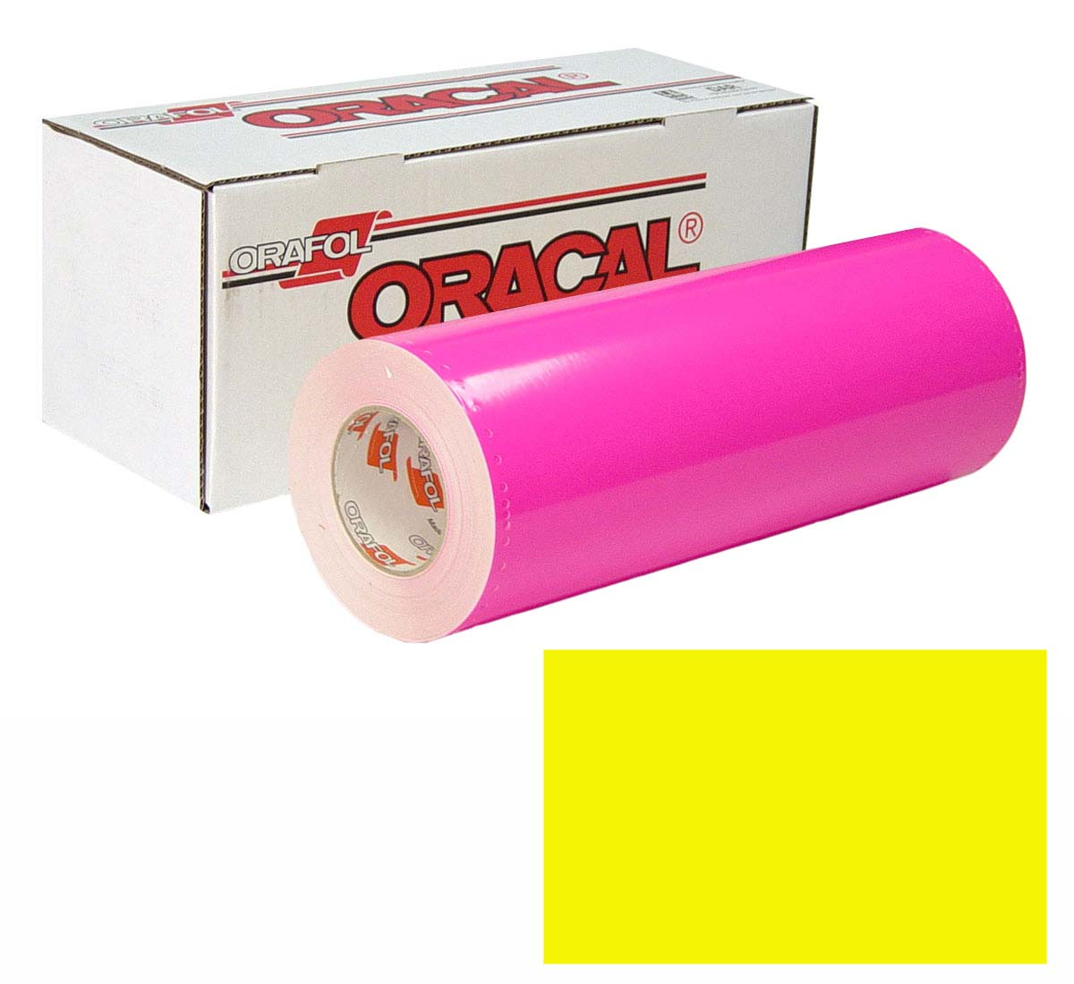 ORACAL 7510 Fluor 15In X50Yd 029 Yellow