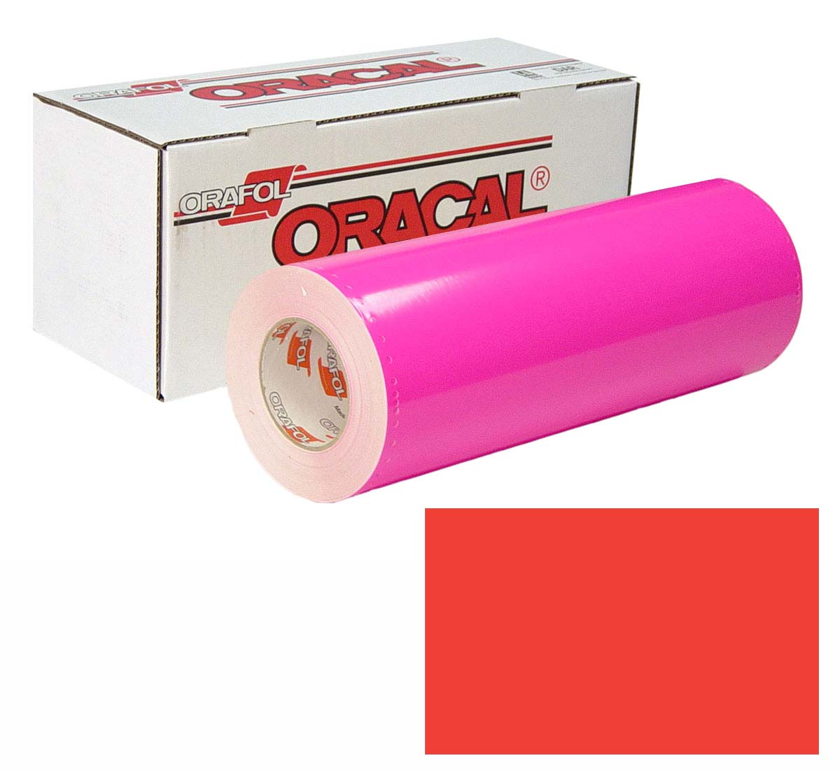 ORACAL 6510 Fluor 15In X10Yd 039 Red