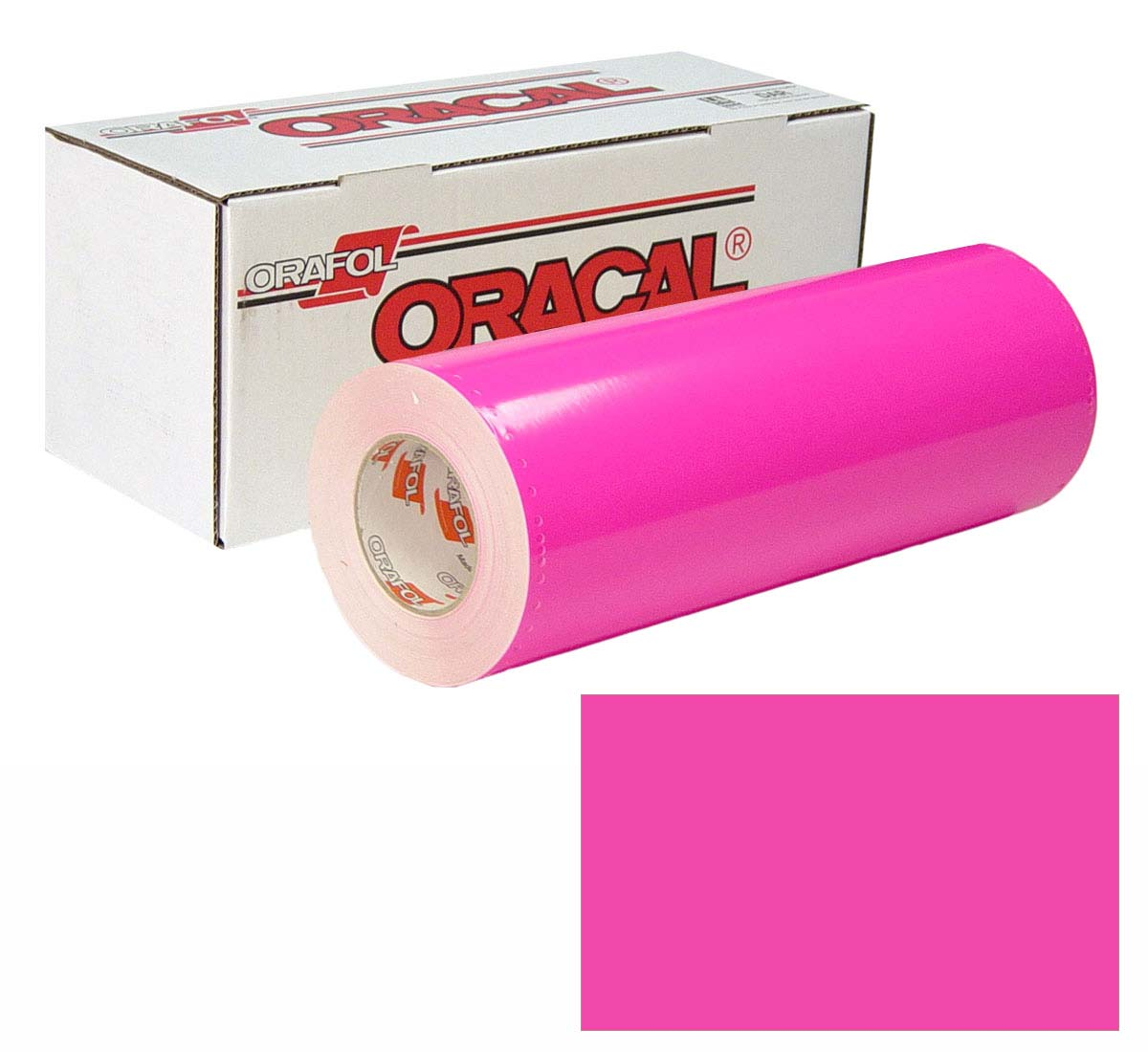 ORACAL 6510 Fluor 15In X50Yd 046 Pink