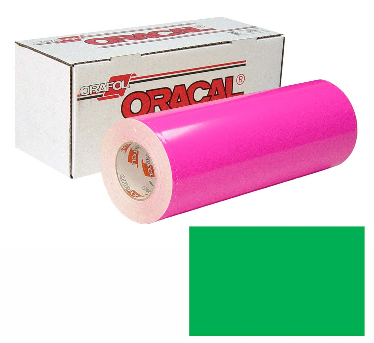 ORACAL 6510 Fluor 15in X 50yd 069 Green