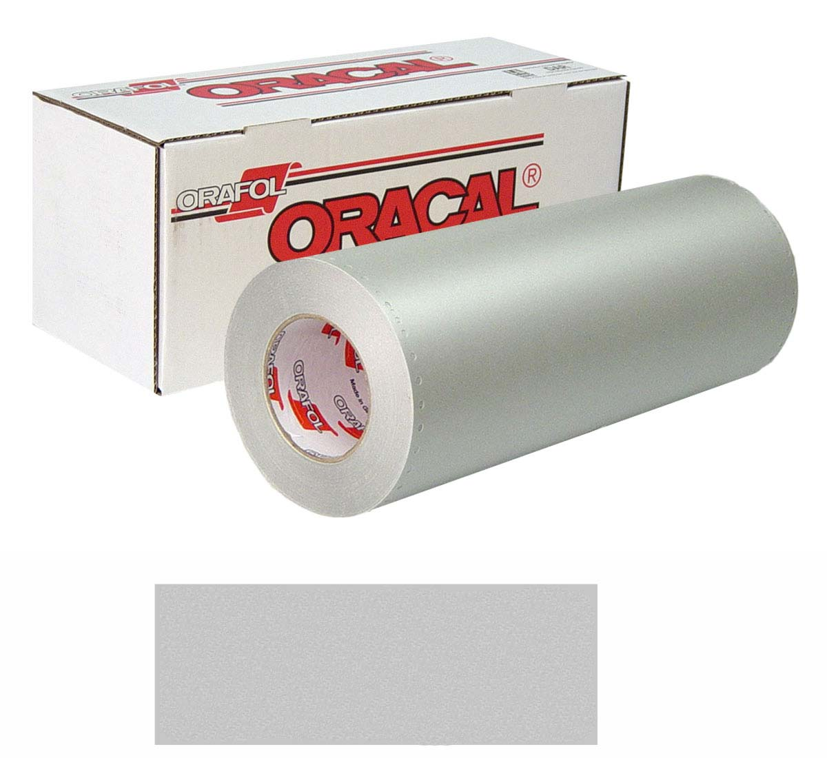 ORACAL 8510 Etched Unp 24in X 50yd 090 Slvr-F