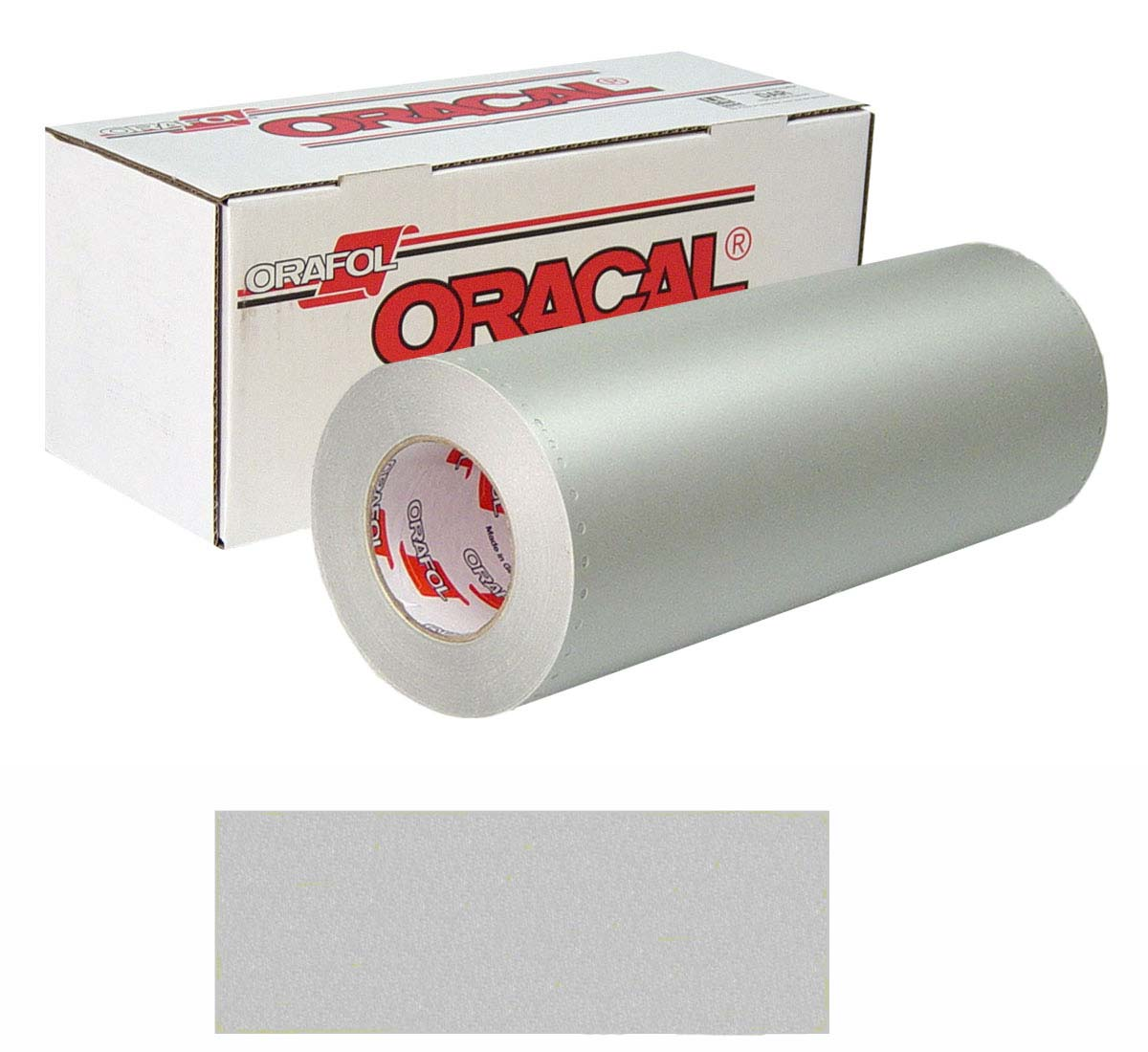 Buy Oracal 8510 Etched 15in X 50yd 094 Silver