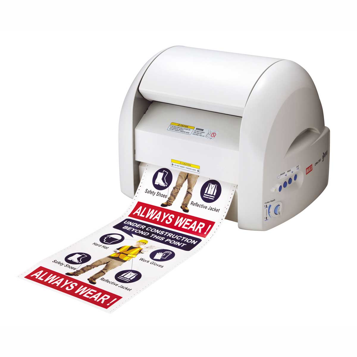 MAX Bepop CPM-200GU Label Printer & Cutter