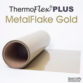 ThermoFlex Plus 30in X 60ft Gold Flake