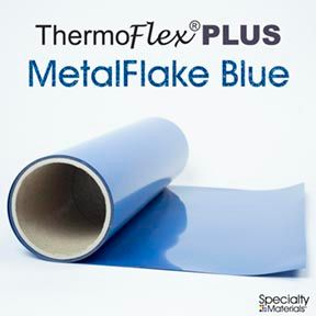 Thermoflexplus 15In Punch X 15Ft Blue Flake