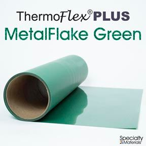 Thermoflexplus 30In Unp X 15Ft Green Flake