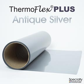 Thermoflexplus 15In-P X 15Ft Antique Silver