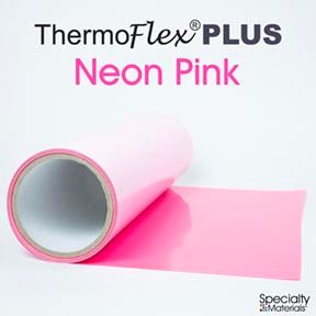 ThermoFlex Plus 15in-P X 15ft Neon Pink