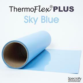 ThermoFlex Plus 15in-P X 15ft Sky Blue
