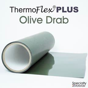 Thermoflexplus 30In Unp X 60Ft Olive Drab