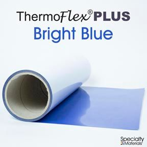 ThermoFlex Plus 15in-P X 15ft Bright Blue