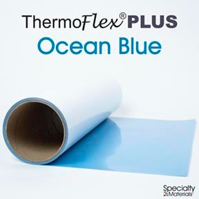 ThermoFlex Plus 20in X 15ft Ocean Blue