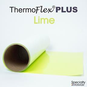 ThermoFlex Plus 15in-P X 15ft Lime