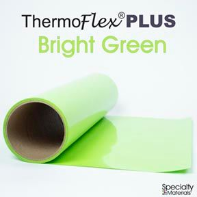 ThermoFlex Plus 15in-P X 15ft Bright Green