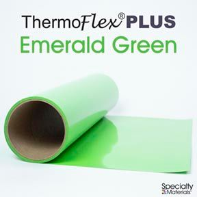 ThermoFlex Plus 20in X 15ft Emerald Green