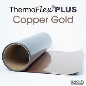 ThermoFlex Plus 15in-P X 15ft Copper Gold