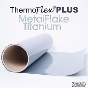 ThermoFlex Plus 30in X 15ft Titanium Flake