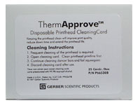 Thermal Printhead Cleaning Cards