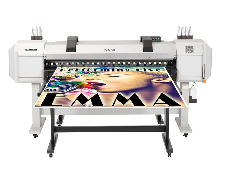 Mutoh 64-Inch Valuejet 1617H Hybrid Printer