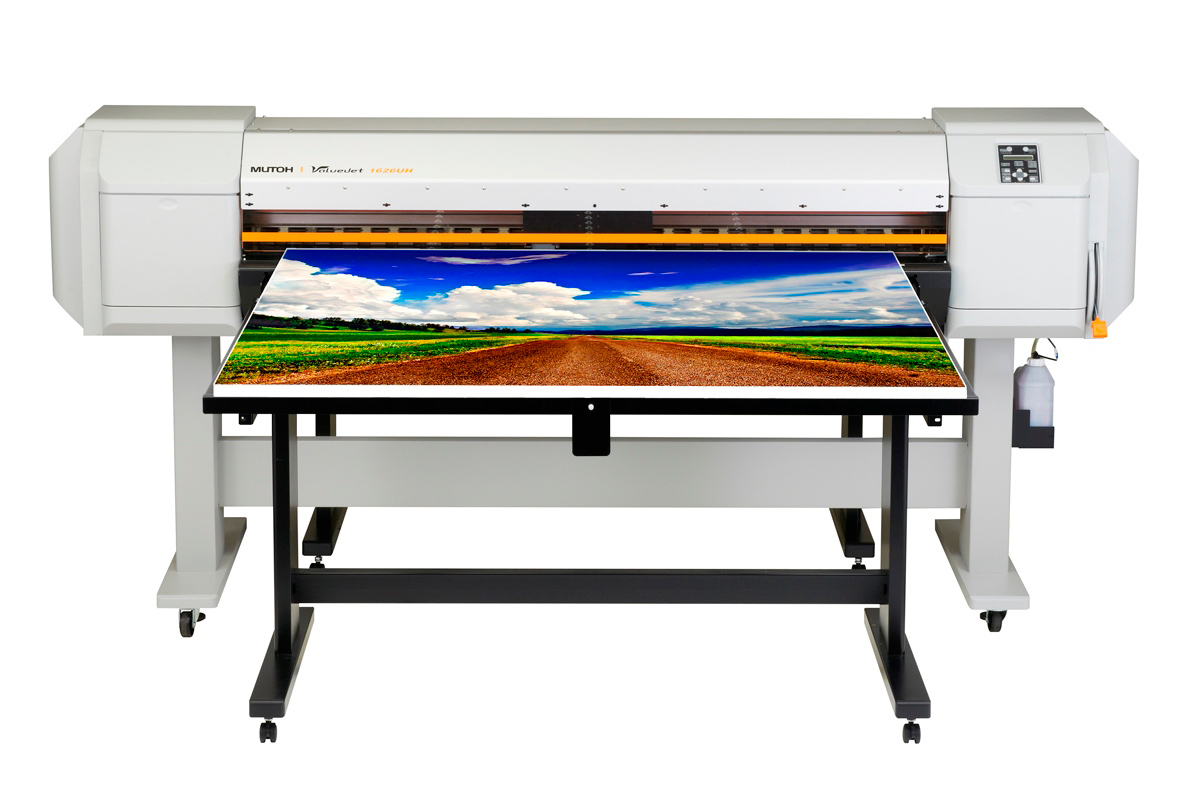 Mutoh 64-Inch UV-Led ValueJet 1626UH Printer