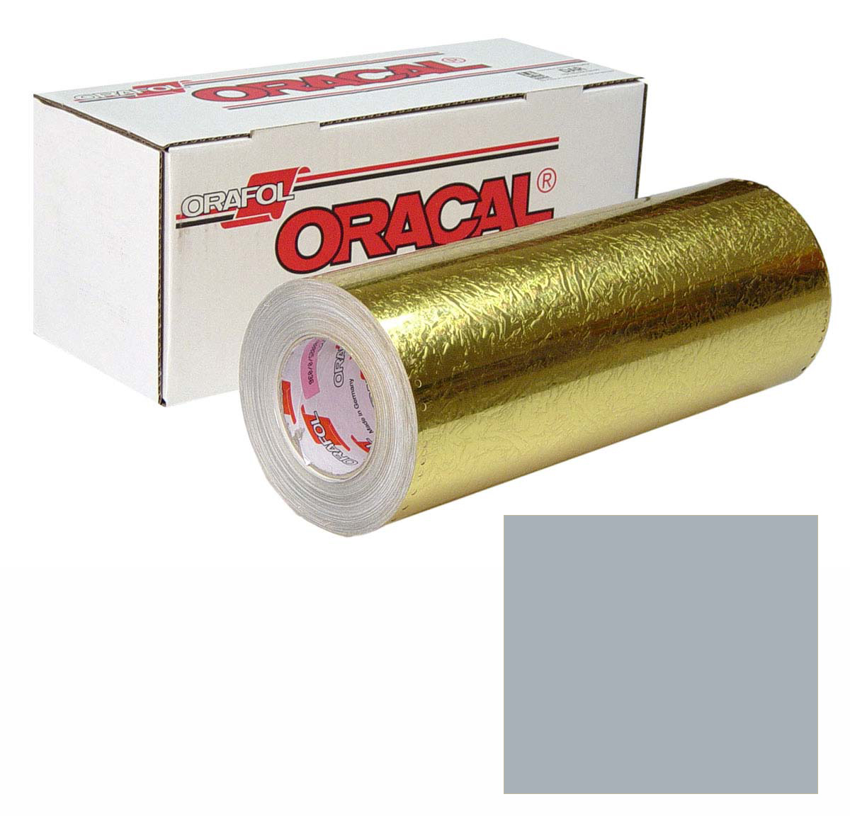 ORACAL 383 Ultraleaf 24In X 50Yd 001-Chrome