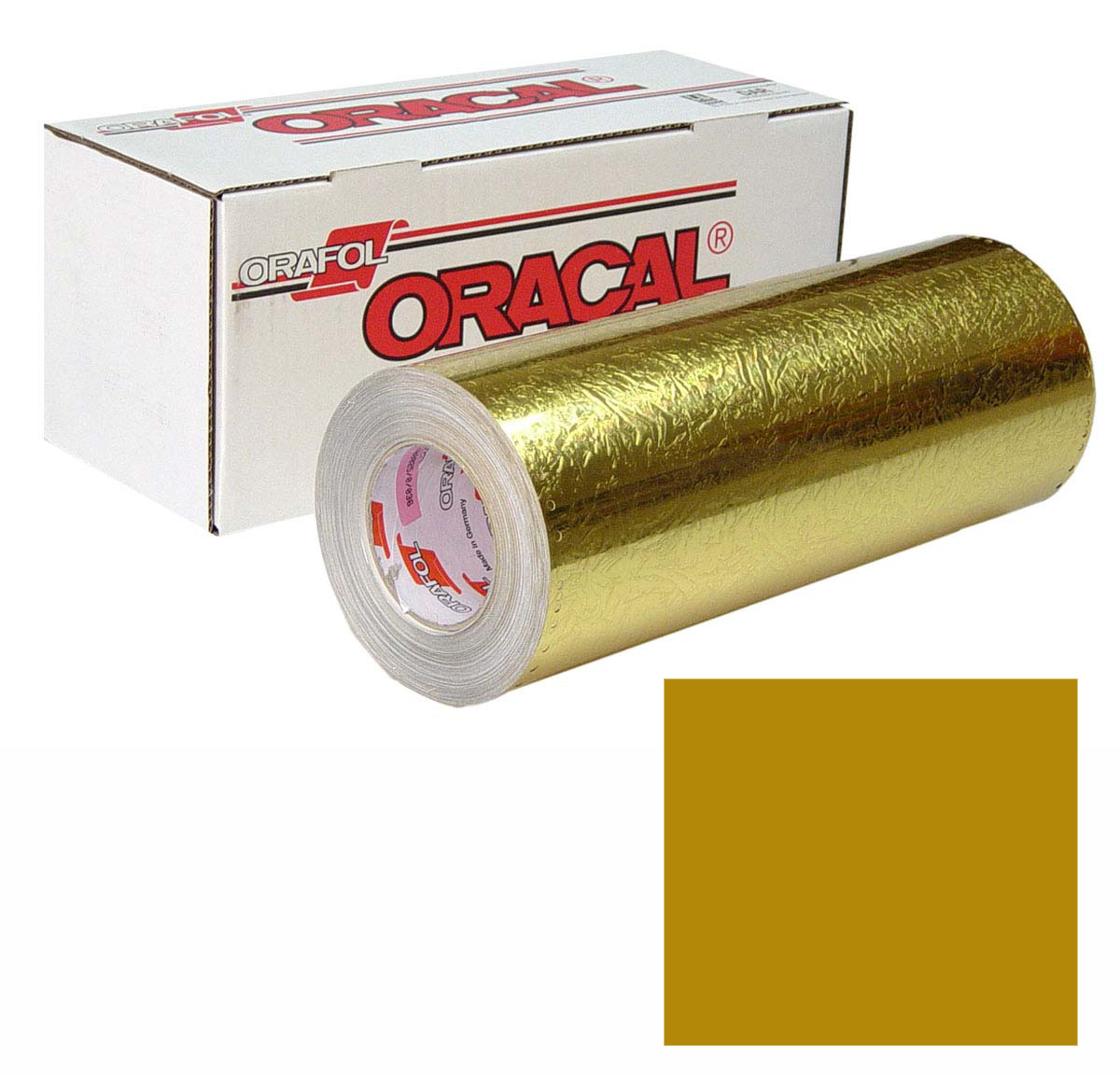 ORACAL 383 Ultraleaf 48In X 10Yd 003-Gold