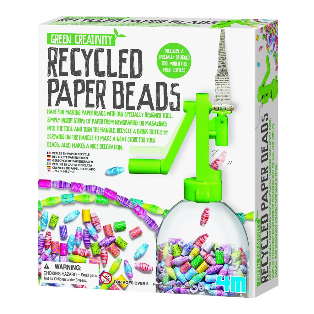 Recyclyed Paper Beads Kit