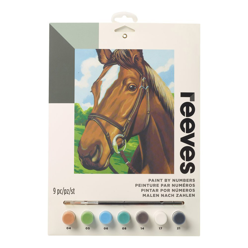 Junior Paint By Number Set Horse's Head