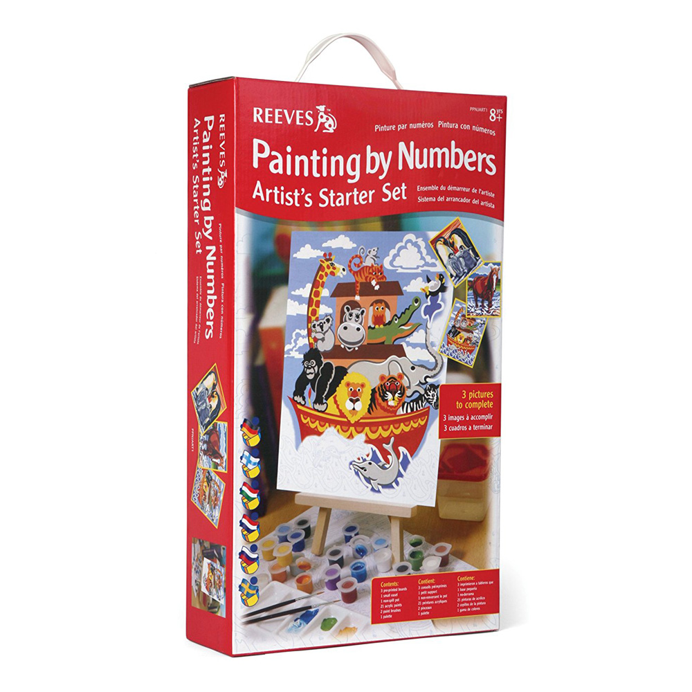 Reeves Paint By Number Starter Set Noah's Ark
